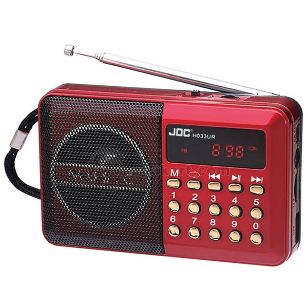 JOC h011ur Rechargable Radio