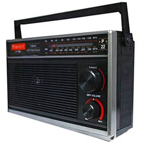 Premier FM dry cell Portable Radio