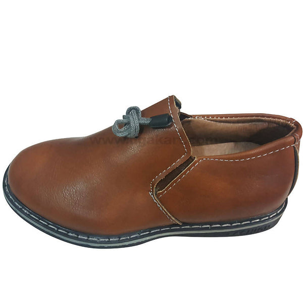 Brown Classic Shoes For Kids(Size-25 to 36)