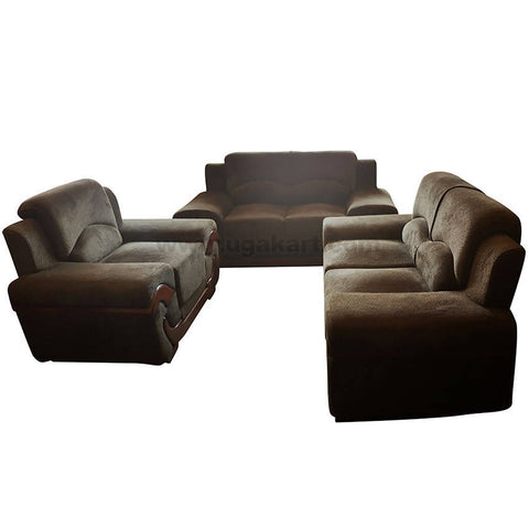 Green Five Seater Sofa Set