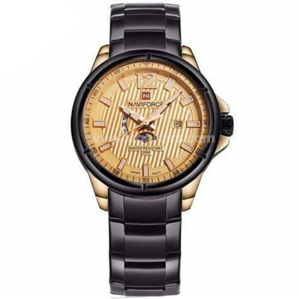 Navi Force Brown Dial Analog Men's Watch
