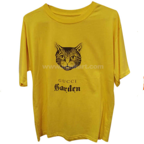 Gucci Men's Yellow T-Shirt