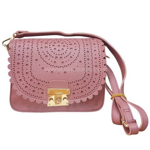 Designer Pink Women's Cross Bag