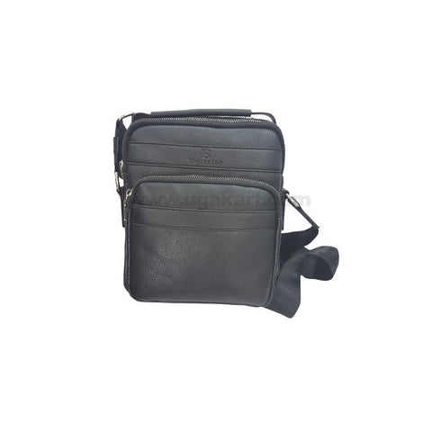 Bolisite Black Unisex Cross Bag