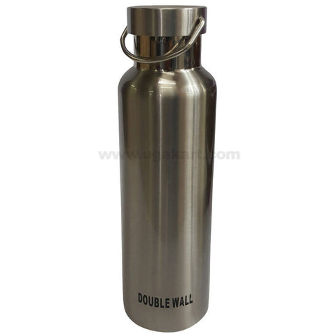 Double Wall Vaccum Flask With Handle