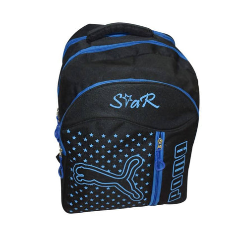 Star poma Blue Backpack Bag