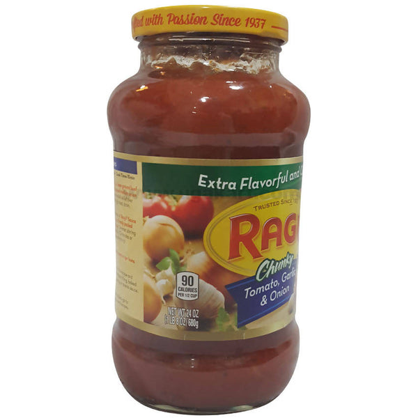 Ragu Tomato Garlic and Onion Sauce, 680g
