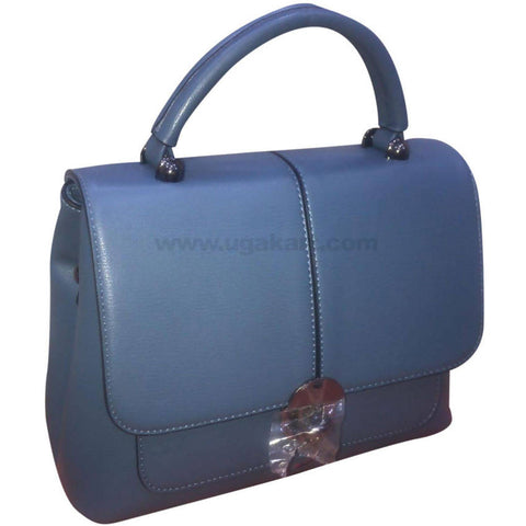 Navy Blue Ladies Office Travel Hand Bag