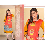 Soft reyon material with tissuesilk material with bell sleeve_XL
