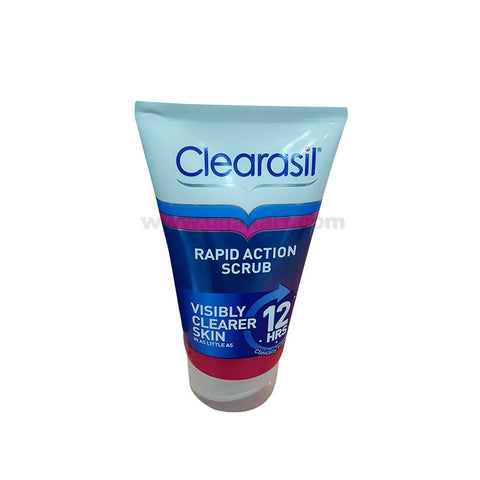 Clearasil Rapid Action Scrub-125ml