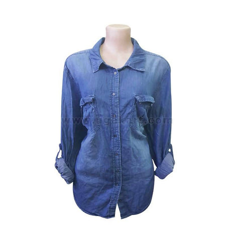 Ladies Blue Jeans shirt