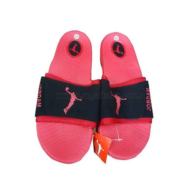 Air Jordan Casual Men's Sandals - Black,Red