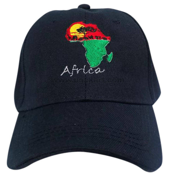 Navy Blue_Cap With Uganda Map Design