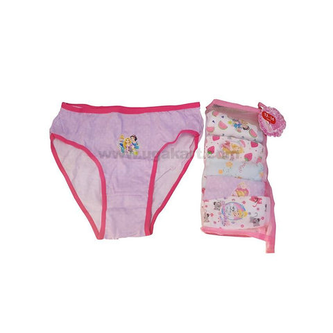 Underware/Panties For Girls_6Pc_3Yrs To 14Yrs