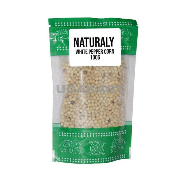 Naturaly White Pepper Corn
