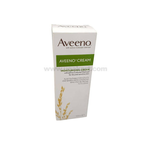 Aveeno Moisturising Cream Ith Active Colloidal Oatmeal For Dry Skin-100ml