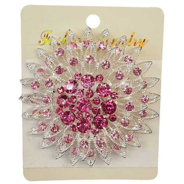 Fashion Jewelry Pink Hair Clip