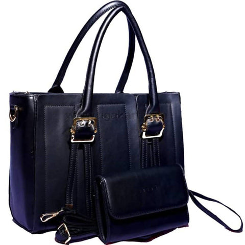 2Pcs Black Hand Bag