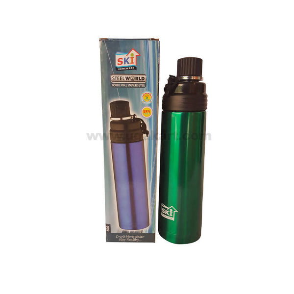 Ski Double Wall Stainless Steel Bottle