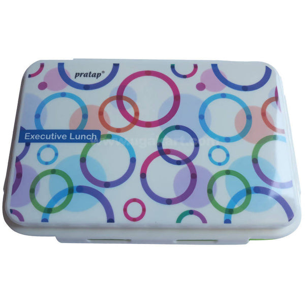 White Lime Lunch Box