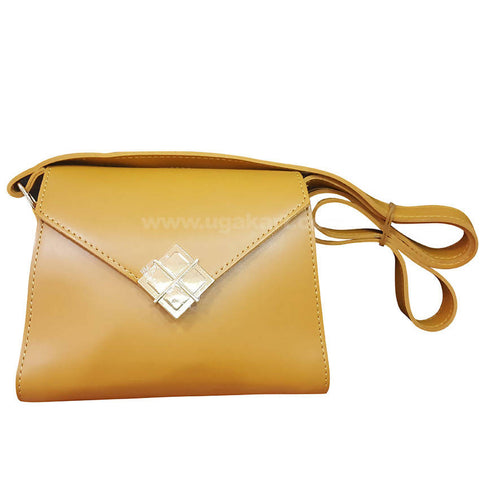 Four Square Brown Womens Cross Bag