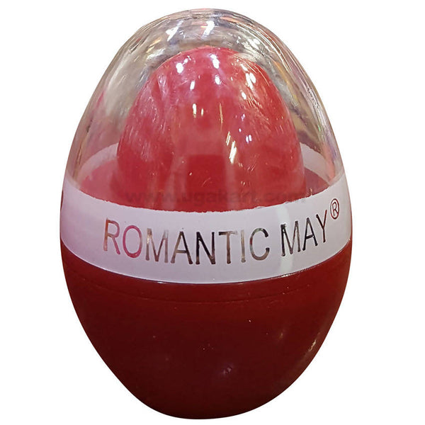 ROMANTIC MAY Red Powder Puff
