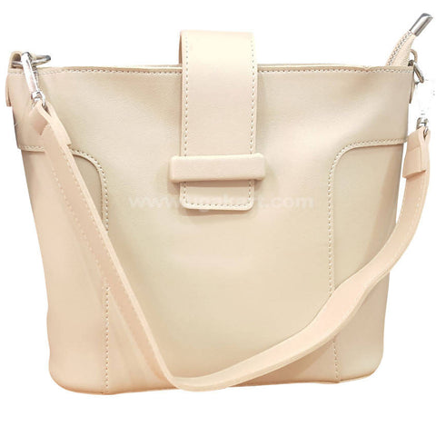 Light Cream Hand Bag