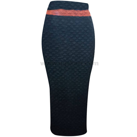 Women's Black Long Skirt