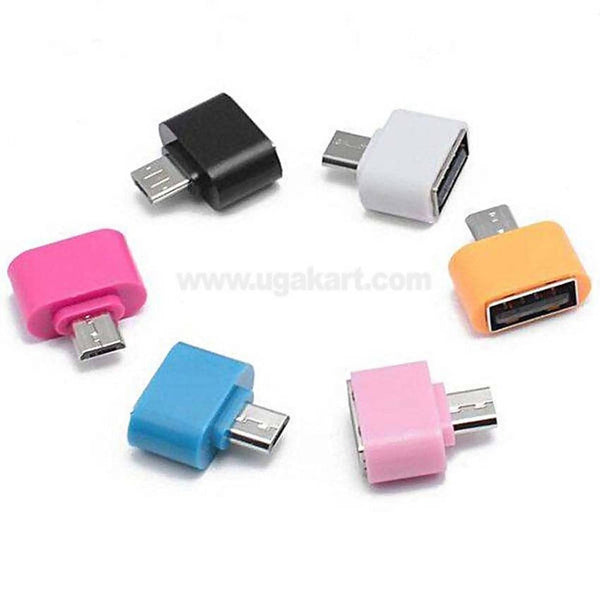 Square Micro OTG Adapter for Android Per Pc