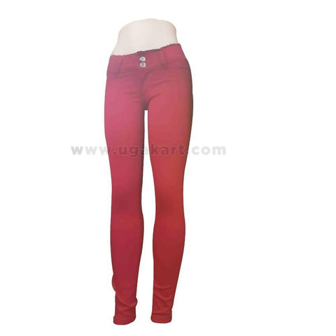 Red Ladies Pant