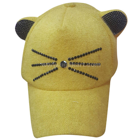 Kid's Yellow Cat Like Cap