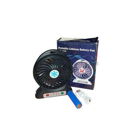 Portable Lithium Battery Fan-Zdl-F68