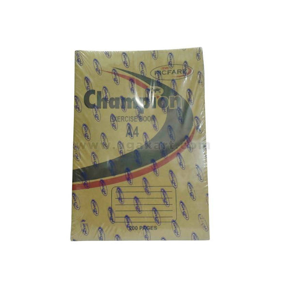 Champion Exercise Book A4 200 Pages 12pc