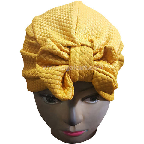 Hijab Cap Yellow