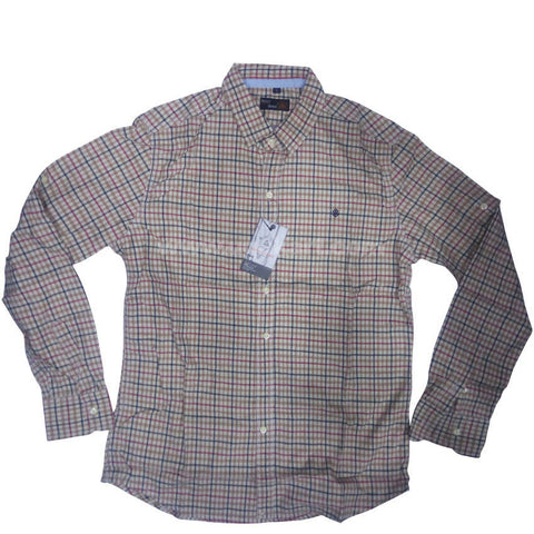 Full Sleeve checkered Regular Fit Shirt For Men