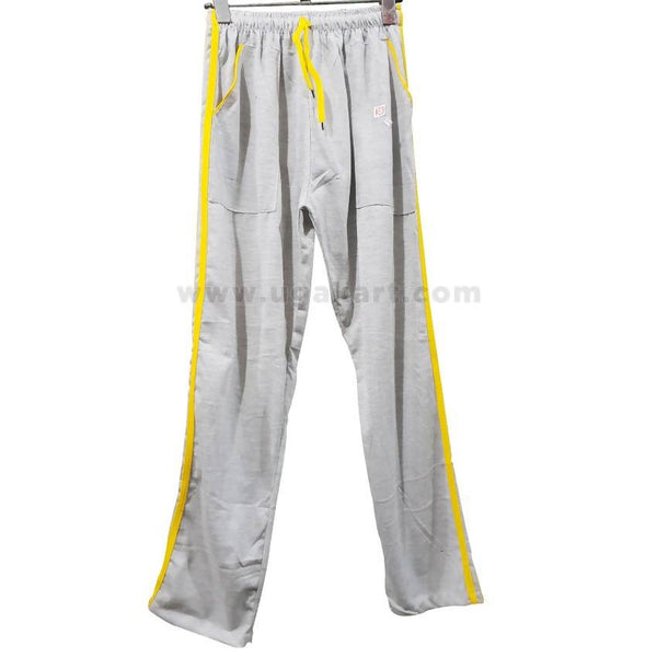 Jogging Trouser Grey & Yellow