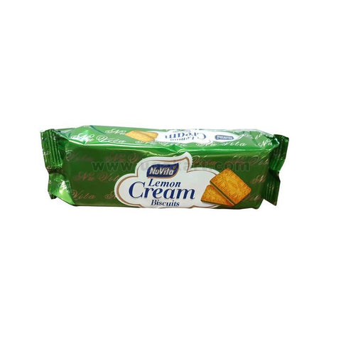 NUVITA lemon Cream Biscuits 75gm