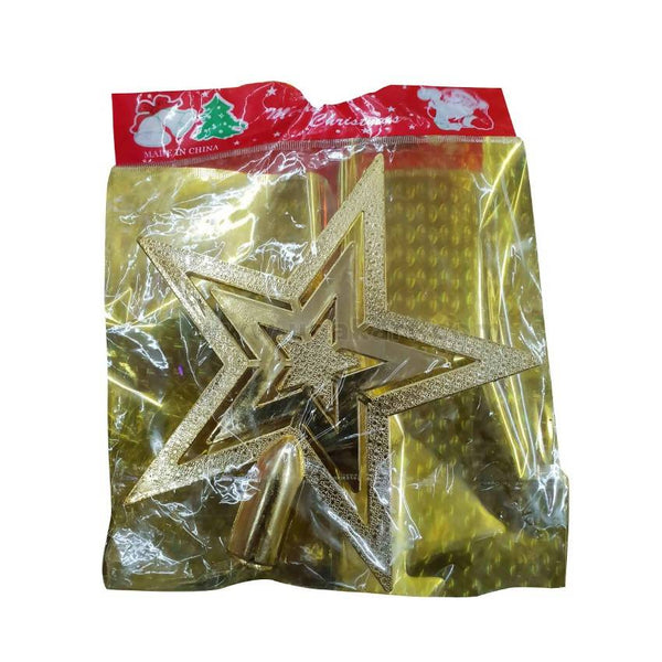 Decoration Christmas Star-Golden