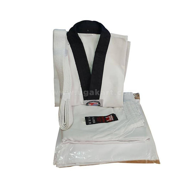 Karate Kit Uniform With a Belt - White