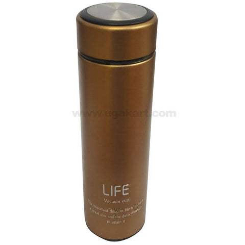 Life Golden Vacuum Flask