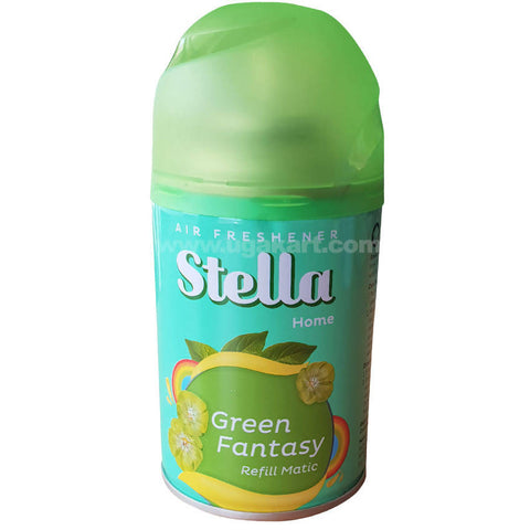 Stella Home Green Fantasy Refill Matic Air Freshener_225ML