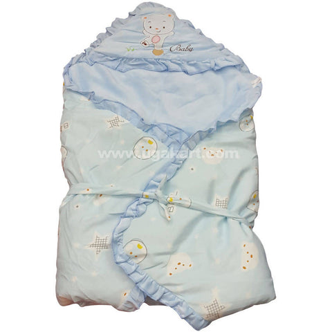 Blue Color Blanket For Kids