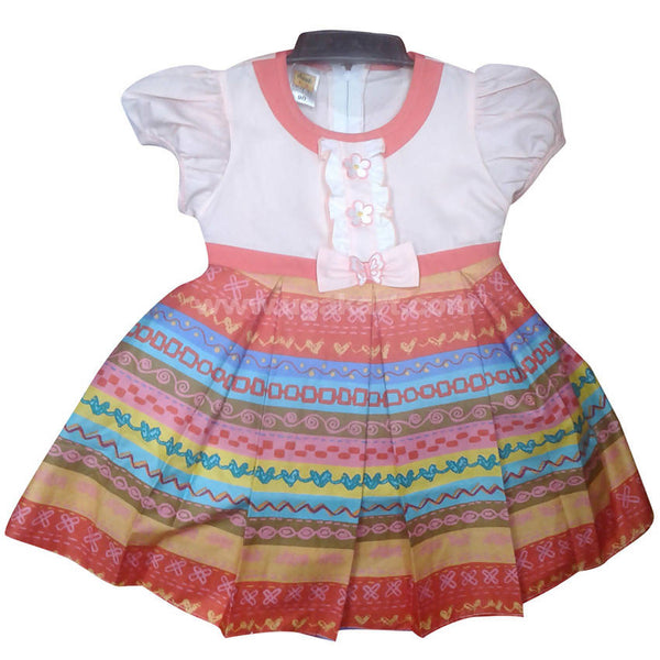 Multi Color Girls Dress (1-3yrs)