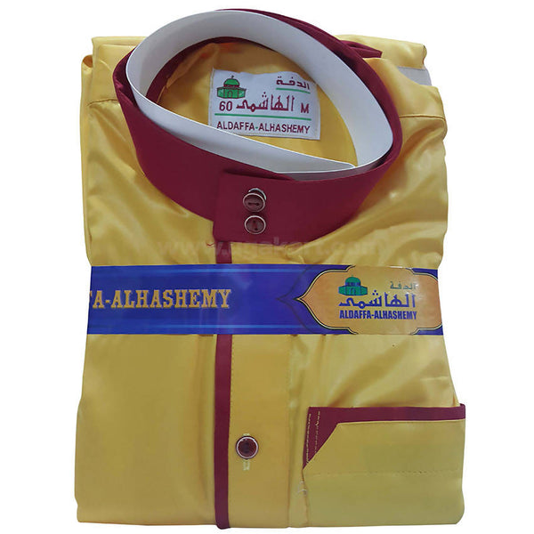 Aldaffa Alhashemy Thobes_Yellow