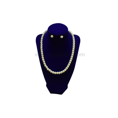 Flatly-round Pearl Necklace