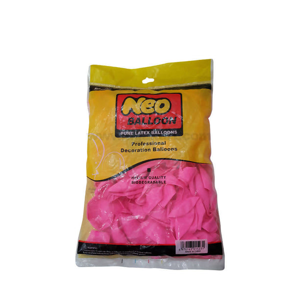 Neo Pure Latex Balloons_Pink-100pcs
