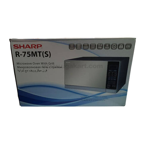 Sharp Microwave Oven With Grilled,R-75MT(S) 25Liter,
