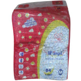 Lil Angel Baby Basic Diapers 84Pcs (6-10Kgs)