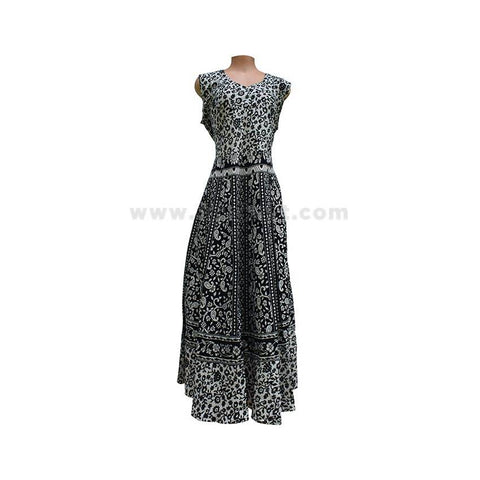 Women Black Floral Printed Dress - Size XXL/42