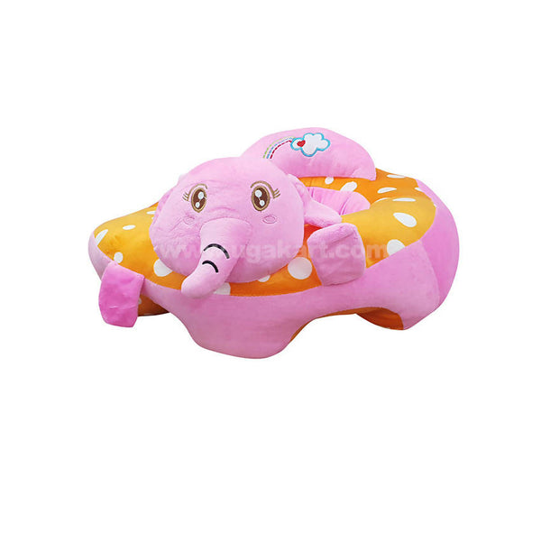 Inflatable Seating Cushion For Baby-Pink And Orange